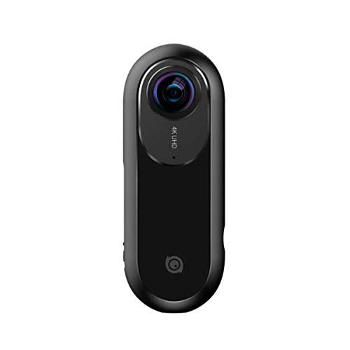 Insta360 ONE 360 Action Sport Videokamera, VR Panorama Kamera, Dual Fish Eye-Objektiv, 24MP 7K Fotos 4K Videos Stabilisierungsfunktion für iPhone 6/7/8/X-Serie Plug und Play, Schwarz