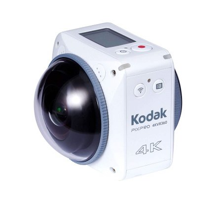 Kodak Standart Stero Mikrofon weiß